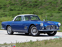 1958 Maserati 3500 GT Berlinetta by Carrozzeria Touring (Tipo 101) = 230 км/ч. 223 л.с. 7.6 сек.