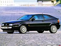 1992 Volkswagen Corrado VR6 = 235 км/ч. 192 л.с. 6.9 сек.