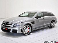2013 Brabus CLS 63 AMG Shooting Brake 4Matic 850 6.0 Biturbo = 370 км/ч. 850 л.с. 3.1 сек.