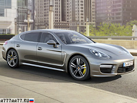 2014 Porsche Panamera Turbo S Executive (970.2) = 310 км/ч. 570 л.с. 3.9 сек.