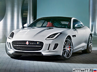 2014 Jaguar F-Type R Coupe = 300 км/ч. 550 л.с. 4.2 сек.
