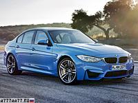 2014 BMW M3 (F80) = 250 км/ч. 430 л.с. 4.3 сек.