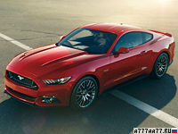 2015 Ford Mustang GT = 249 км/ч. 426 л.с. 4.3 сек.