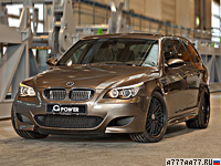 2014 BMW M5 Touring G-Power Hurricane RR = 362 км/ч. 820 л.с. 4.3 сек.