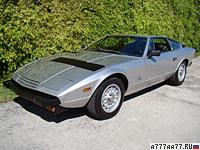 1973 Maserati Khamsin = 262 км/ч. 315 л.с. 5.8 сек.