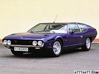 1972 Lamborghini Espada 400 GTE = 261 км/ч. 350 л.с. 6.1 сек.