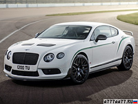 2014 Bentley Continental GT3-R = 304 км/ч. 600 л.с. 3.7 сек.
