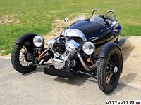 2011 Morgan 3 Wheeler = 185 км/ч. 115 л.с. 4.5 сек.