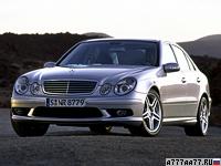 2003 Mercedes-Benz E 55 AMG (W211) = 250 км/ч. 476 л.с. 4.7 сек.