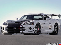 2010 Dodge Viper SRT10 ACR-X = 328 км/ч. 649 л.с. 3.6 сек.
