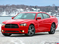 2013 Dodge Charger AWD Sport = 260 км/ч. 375 л.с. 4.7 сек.