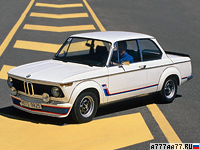 1974 BMW 2002 Turbo (E20) = 206 км/ч. 170 л.с. 6.6 сек.