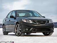 2008 Saab 9-3 Turbo X Sport Sedan = 250 км/ч. 280 л.с. 6.2 сек.