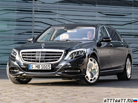 2015 Mercedes-Maybach S 600 = 250 км/ч. 530 л.с. 5 сек.