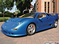 1990 Montecarlo Automobile GTB Centenaire = 350 км/ч. 720 л.с. 4 сек.