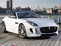 2016 Jaguar F-Type R AWD Convertible = 300 км/ч. 550 л.с. 4.1 сек.