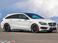 2015 Mercedes-AMG CLA 45 4Matic Shooting Brake (X117) = 250 км/ч. 360 л.с. 4.7 сек.