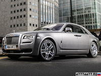 2015 Rolls-Royce Ghost Series II = 250 км/ч. 570 л.с. 4.9 сек.