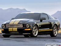 2006 Ford Mustang Shelby GT-H = 257 км/ч. 325 л.с. 5.2 сек.