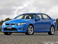 2008 Ford Falcon XR8 = 277 км/ч. 394 л.с. 5.2 сек.