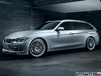 2015 Alpina D3 Bi-Turbo Touring Allrad (F31) = 274 км/ч. 350 л.с. 4.9 сек.
