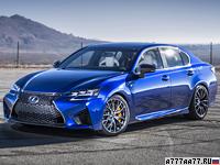 2016 Lexus GS F = 270 км/ч. 477 л.с. 4.6 сек.
