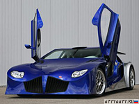 2008 Weber Sportscars Faster One (F1) = 400 км/ч. 900 л.с. 2.6 сек.