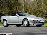 1987 Aston Martin V8 Volante Zagato Prototype = 299 км/ч. 438 л.с. 5 сек.