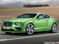 2015 Bentley Continental GT Speed = 331 км/ч. 635 л.с. 4.2 сек.