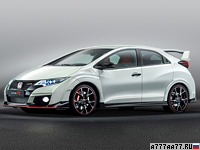 2015 Honda Civic Type-R  = 269 км/ч. 310 л.с. 5.7 сек.