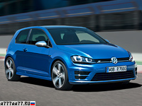 2014 Volkswagen Golf R = 250 км/ч. 301 л.с. 4.9 сек.