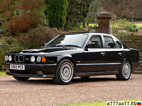 1989 BMW M5 3.5 (E34) = 250 км/ч. 315 л.с. 6.3 сек.