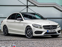 2015 Mercedes-Benz C 450 AMG 4Matic = 250 км/ч. 367 л.с. 4.9 сек.
