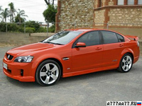2006 Holden Commodore SS-V (VE) = 280 км/ч. 367 л.с. 5.2 сек.