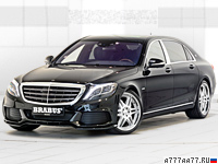 2015 Brabus Mercedes-Maybach S600 Rocket 900 6.3 V12 = 350 км/ч. 900 л.с. 3.7 сек.