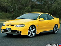 2004 Holden Monaro HSV GTS Coupe = 280 км/ч. 408 л.с. 4.9 сек.