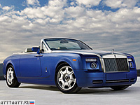 2008 Rolls-Royce Phantom Drophead Coupe = 240 км/ч. 460 л.с. 5.9 сек.