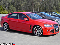 2009 Holden Commodore HSV W427 (VE) = 305 км/ч. 510 л.с. 4.1 сек.