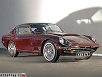 1966 Aston Martin DBSC by Touring = 260 км/ч. 330 л.с. 6.1 сек.