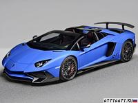 2016 Lamborghini Aventador LP750-4 SV Roadster = 350 км/ч. 750 л.с. 2.9 сек.