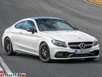2016 Mercedes-AMG C 63 S Coupe (C205) = 280 км/ч. 510 л.с. 3.9 сек.