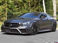2016 Mercedes-Benz S 63 AMG Coupe Mansory Black Edition = 300 км/ч. 1000 л.с. 3.2 сек.