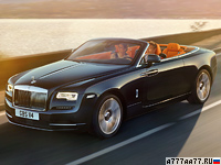 2016 Rolls-Royce Dawn = 250 км/ч. 570 л.с. 4.9 сек.