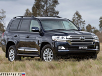 2016 Toyota Land Cruiser 200 = 229 км/ч. 383 л.с. 7.7 сек.