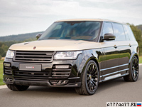 2015 Land Rover Range Rover Autobiography LWB Mansory = 240 км/ч. 620 л.с. 4.8 сек.