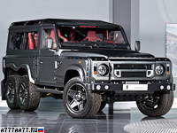 2015 Land Rover Defender Project Kahn Flying Huntsman 110 6x6 = 160 км/ч. 500 л.с. 9.5 сек.