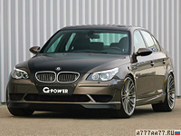 2009 BMW M5 G-Power Hurricane RS = 367 км/ч. 750 л.с. 4.6 сек.