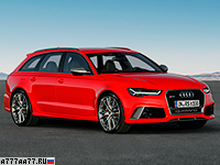 2016 Audi RS6 Avant Performance = 305 км/ч. 605 л.с. 3.7 сек.