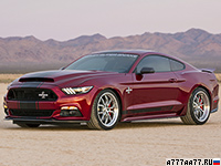 2015 Ford Mustang Shelby Super Snake = 335 км/ч. 760 л.с. 3.7 сек.