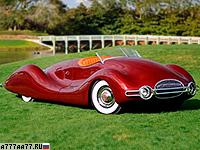 1948 Buick Streamliner = 205 км/ч. 203 л.с. 7.8 сек.
